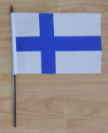 Finland Country Hand Flag - Medium.